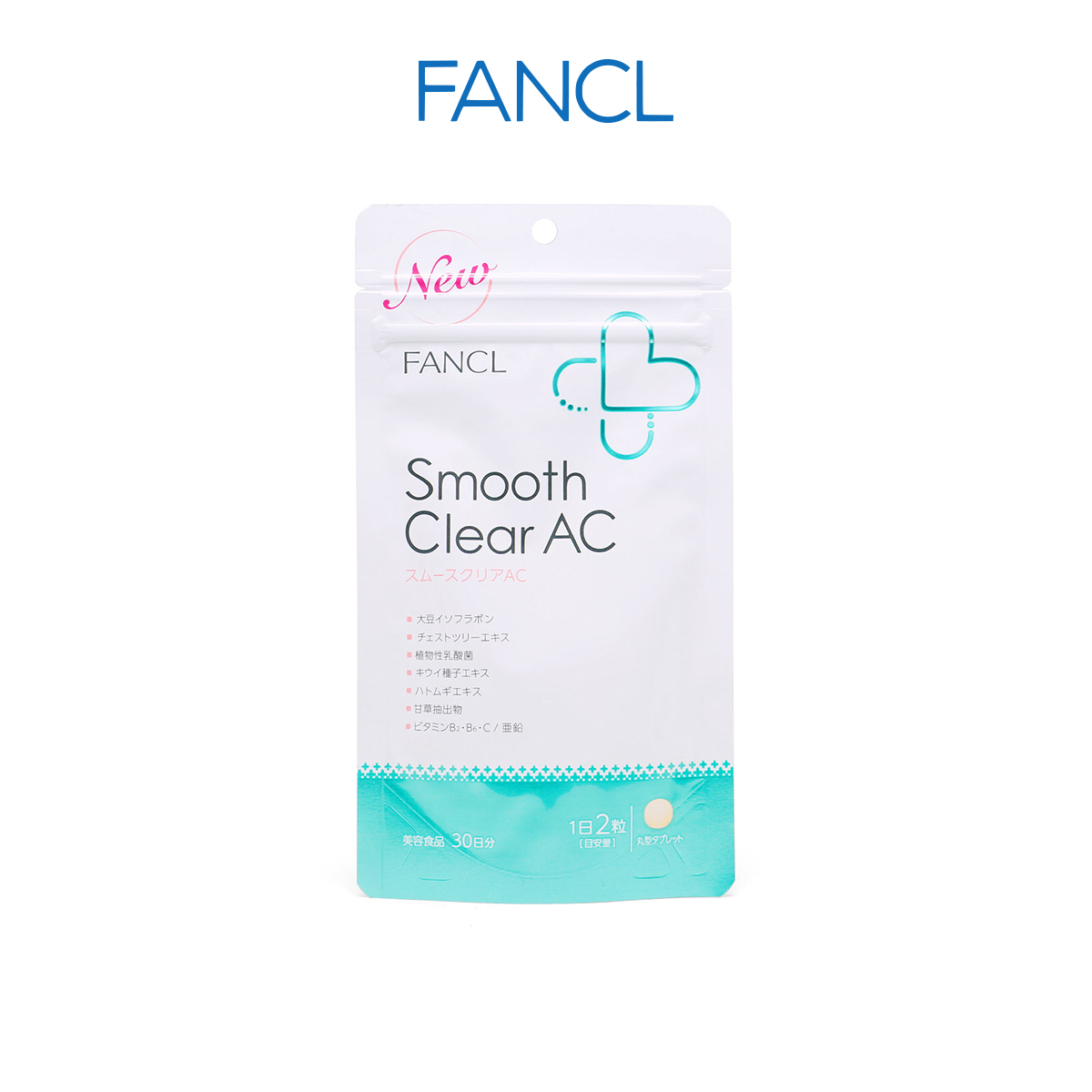 Buy FANCL Smooth Clear AC Acne Care 60 tablets (30 Days) [Ship from SG / 100% Authentic] Singapore