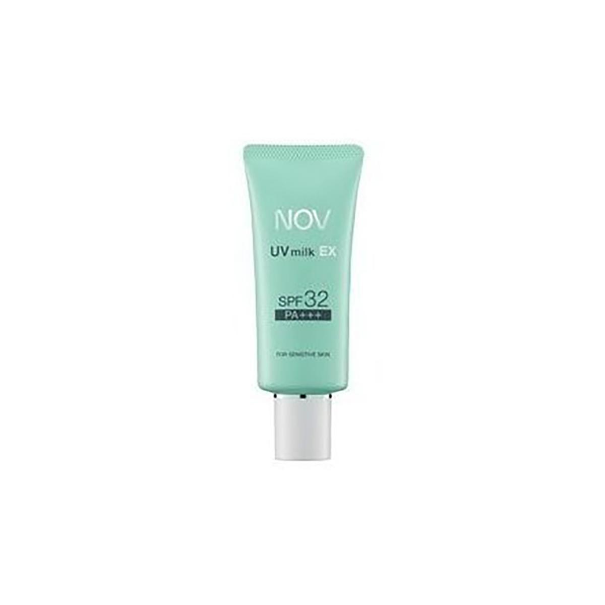 Buy NOV UV Milk Ex SPF 32 Pa+++, For Sensitive Skin Sunscreen 35g  [Ship from SG / 100% Authentic] Singapore